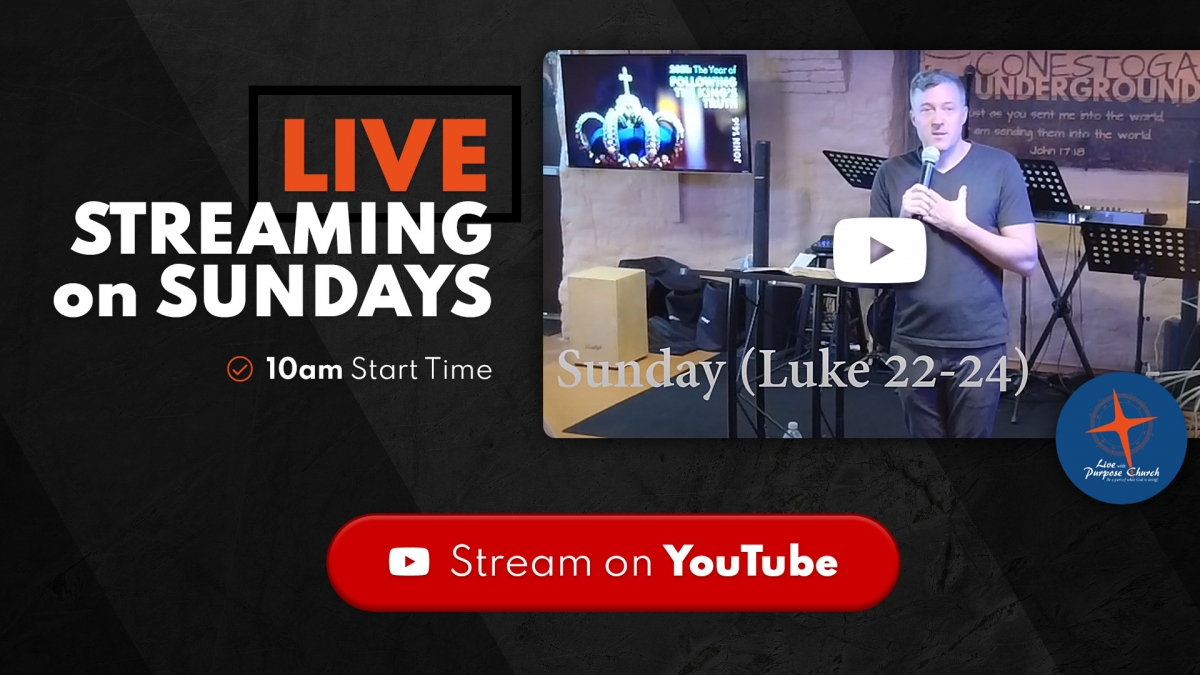 Live Stream on YouTube