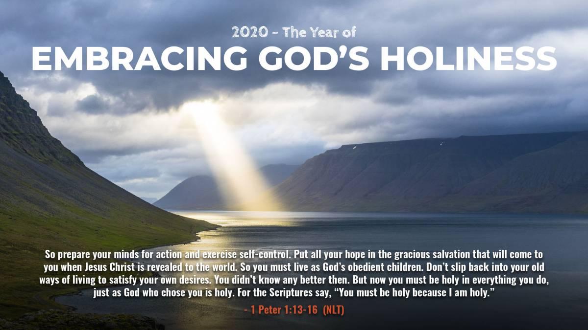 Embracing Gods Holiness